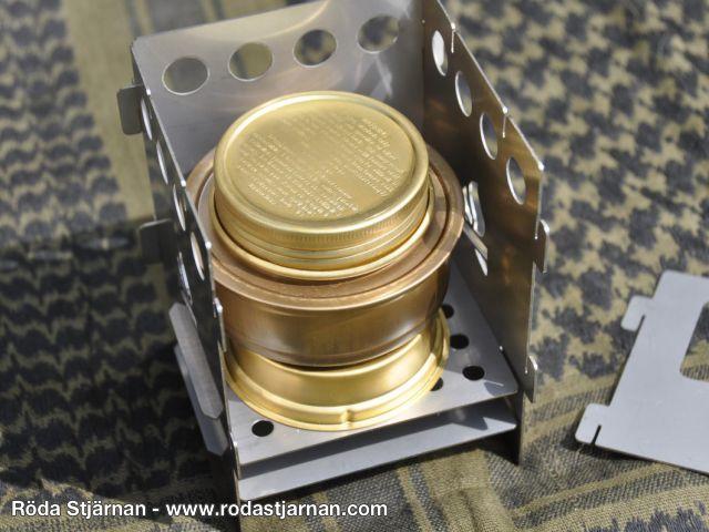 12/x 8,5/x 3,5/cm Bushcraft Unisex Backpacker Essentials Survival Dose Bronze